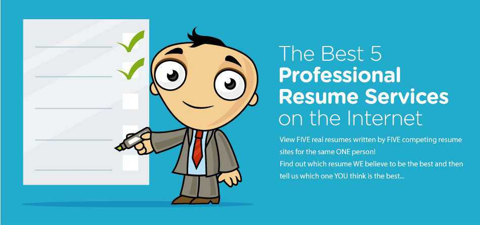 Resume Writers  - The Best 5 Professional Services on the Internet