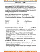 Sample Resume for Senior Real Estate Management Professional Ranked # 5