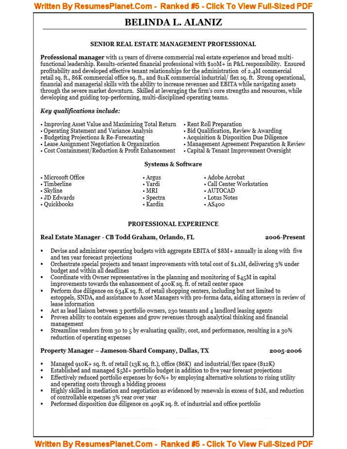 ResumesPlanetCom See a resume they wrote AND see better resumes