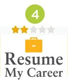 Two-Star Rank for Resume My Career